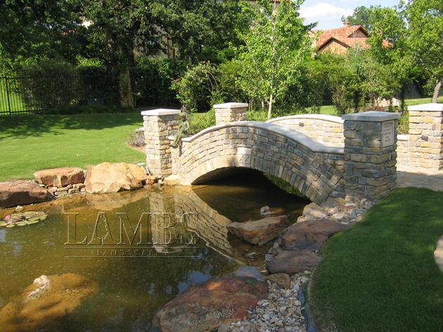 Pond Bridge Lambs Landscapes