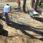 Flagstone Sitting Area with Dinner Table 2