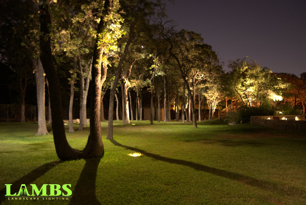 Landscape lighting lambs landscapeslambs landscapes moonlight behind pool aloadofball Image collections