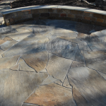 Sitting Wall and Flagstone Patio 2 630x